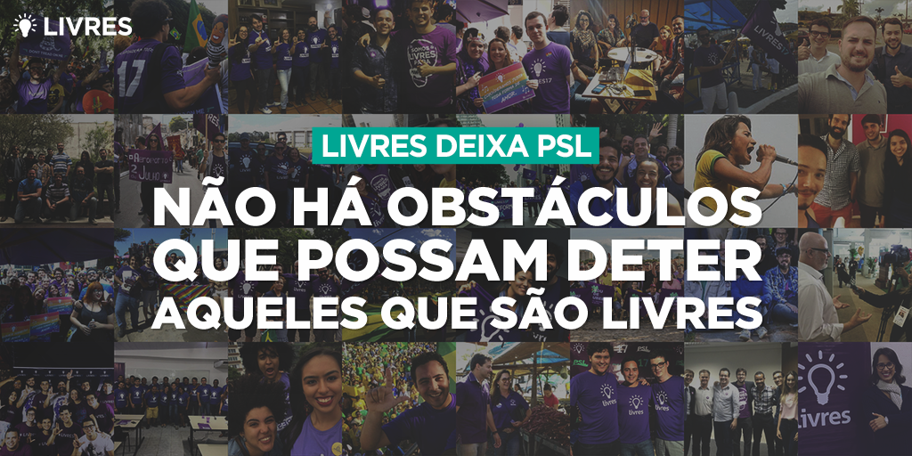 Livres deixa o PSL